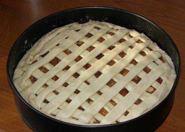 Как сделать верх у пирога 82